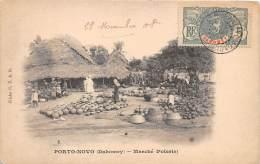 DAHOMEY / Porto Novo - Marché - Poterie - Dahomey