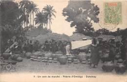 DAHOMEY / Un Coin Du Marché - Poterie D' Ombéga - Dahomey
