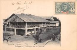 DAHOMEY / Le Restaurant De Cotonou - Belle Oblitération - Dahomey