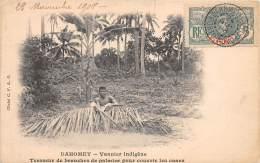 DAHOMEY / Vannier Indigène - Tresseur De Branches De Palmier - Belle Oblitération - Dahomey