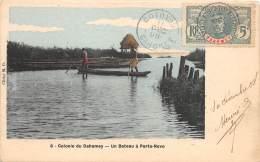 DAHOMEY / Un Bateau à Porto Novo - Belle Oblitération - Dahomey