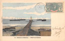DAHOMEY / Wharf De Cotonou - Belle Oblitération - Dahomey
