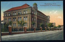 Cpa  De Pologne  Hindenburg  O.-S.  Verwaltungsgebäude Der Donnersmarckhütte   NCL74 - Pologne