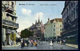 Cpa  De Pologne  Beuthen O.-Schles.  Kaiser Franz Joseph Platz    NCL74 - Poland