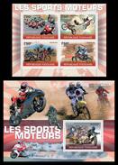 TOGO 2010 - Motorsport - YT 2264-7 + BF419; CV = 34 € - Togo (1960-...)
