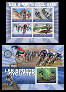 TOGO 2010 - Cycling, Mountain Bike - YT 2268-71 + BF420; CV = 34 € - Mountain Bike