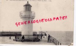 17 - LA PALLICE ROCHELLE- LES PHARES A L' ENTREE DU PORT - PHARE - France