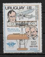 URUGUAY    PA 412  * *  ( Cote 3e ) Avions Wright - Airplanes