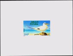 MARINE BIRDS-RED TAILED TROPIC BIRD-DELUXE CARD-IMPERF-MNH-WALLIS & FUTUNA-1990-SCARCE-PA1-35