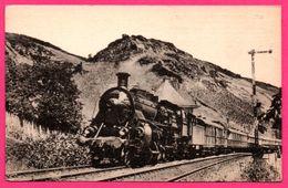 """Locomotives Allemandes Le Rapide """" Rheingold """" Amsterdam-Bâle - 4 Cylindres Et Vapeur - Prototype État Bavarois - H.M.P. - Trains"""
