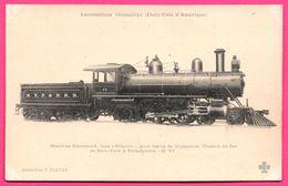 """Locomotives Étrangères - Type """" ATLANTIC """" Pour Trains De Voyageurs - De New York à Philadelphie N° 67 - F. FLEURY - Eisenbahnen"""