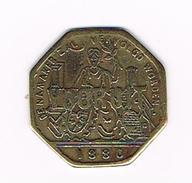 °°° BROODKAART  1  VOORUIT 1880 - Monetary / Of Necessity