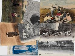 Lot 243 De 10 CPA Divers Métier Campagne Ferme Folklore Déstockage Pour Revendeurs Ou Collectionneurs - Postcards