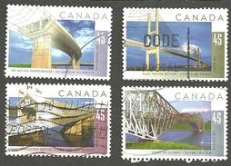 Sc. # 1570-73 Bridges Set Used 1995 K139