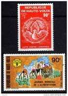 Haute-Volta N° 557 / 58 XX Journée Mondiale De L´Alimentation Et Lutte Contre L´apartheid Les 2 Vals Ss Charnière, TB - Upper Volta (1958-1984)