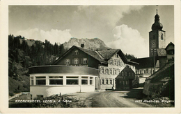 Autriche - Austria - Vorarlberg - Kronenhotel - Lech - Semi Moderne Petit Format - état - Lech