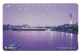 Giappone - Tessera Telefonica Da 105 Units T277 - NTT, - Barche