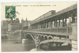 Métro  - Le Pont Du Métropolitain à Passy - Metro