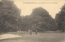 ELISABETHVILLE (78)  LE GOLF DU S.C.F. - LE 9° GREEN - EDIT DUTRONCY - France