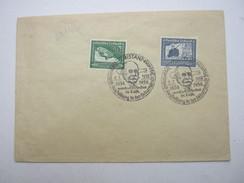 1938 , Zeppelin , Brief Mit Propagandastempeln - Deutschland