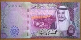 Arabie Saoudite - 5 Riyal - 2016 - PICK 37a - NEUF - Arabia Saudita