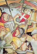 8508-1095-1995 NOVECENTO ANNI CITTA' COMUNE DI ASTI-ILLUSTRATORE CARLO CAROSSO-FG - Manifestations