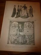 1901:  Allégorie De La MUSIQUE;Charles Le Téméraire; Constantinople- Eyoub,Abdul-Medjid; Roumili-Hissar ; Etc - Vieux Papiers