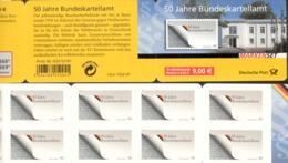 Markenheftchen Bund Postfr. MH 72 Bundeskartellamt MNH ** - [7] West-Duitsland