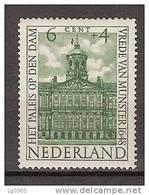 Netherlands Nederland Pays Bas 501 MNH; Monumenten, Monuments, Monumental, Monumento; Paleis Op De Dam, Royal Palace - Monumenten