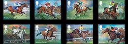 Groot-Brittannië / Great Britain - Postfris / MNH - Complete Set Racepaarden 2017 - 1952-.... (Elizabeth II)