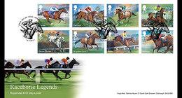 Groot-Brittannië / Great Britain - Postfris / MNH - FDC Racepaarden 2017 - 1952-.... (Elizabeth II)