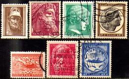 08309 Grécia 611/17 Arte Antiga U - Griechenland