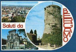 Saluti Da BERGAMO - Panorama - Chiesa Di S. Bartolomeo - Città Alta - La Rocca - Vedute - Bergamo