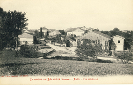 Environs De  LEPANGES (Vosges) -- FAYS -- VUE  GENERALE - France