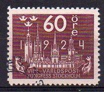 Suède UPU N° 173 Oblitéré - Cote 60€ - Usati