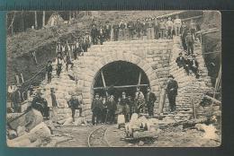 SERBIE SERBIA - Voie Férrée Construction Tunnel - Serbie
