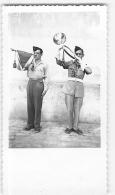 ORAN, La POSTE  + PHOTO TLEMCEN Année 1947 , Visite Quartier D' Isly - Lire Descriptif - 4 Scans - Andere Oorlogen