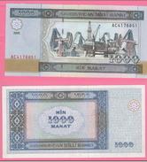 Azerbaijan Azerbaigian 1000 Manat 2001 Petrol - Azerbaigian