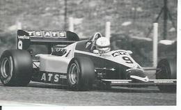 "PHOTO D'ARCHIVES : COURSE AUTOMOBILE - ITALIE - IMOLA  1983  "" ART D6  ""  Pilote:  MANFRED WINKELHOCK - Italie"