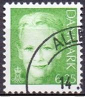 DENEMARKEN 2003 6.25kr Margrethe II Groen GB-USED