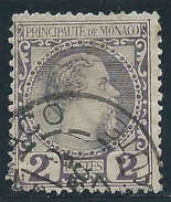 Monaco - 1885 - Charles III - N° 2  - Oblit - Used - Monaco