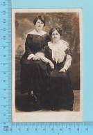 Carte Postale Photo - Femmes, Fall River Mass USA , Woodward Studio - Carte Postale Post Card, Cartolina,  -2 Scans - Photographie
