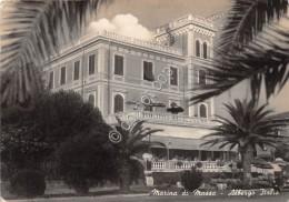 Cartolina  Marina Di Massa Albergo Italia 1954 - Massa