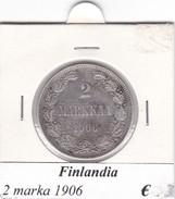 FINLANDIA   2 MARKKAA  1906  COME DA FOTO - Finlandia