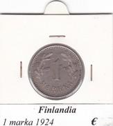 FINLANDIA   1 MARKKA  1924  COME DA FOTO - Finlandia
