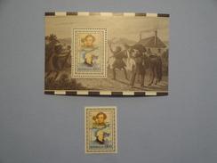 Australie 1991 Yvert BF 16 + 1223 ** Georges Vancouver  Scott 1226/1226A  Michel B12 1265  SG Ms 1304 1303 - 1990-99 Elizabeth II