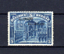 1919   Timbres 1915-19 Surchargé « ALLEMAGNE-DUITSCHLAND », 53**, Cote 250 €, - Guerra 14 – 18