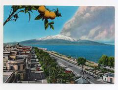 Reggio Calabria - Lungomare Con Veduta Dell'Etna - Viaggiata Nel 1976 - (FDC4454) - Reggio Calabria