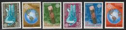 1984 Haiti Communications Drum  Complete Set Of 6 MNH - Haiti