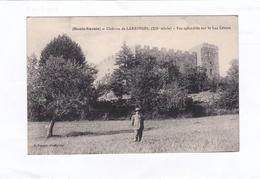 (Haute-Savoie)  -  Château  De  LARRINGES  (XIIe Siècle).  -   Vue  Splendide  Sur  Le  Lac  Léman - Frankrijk
